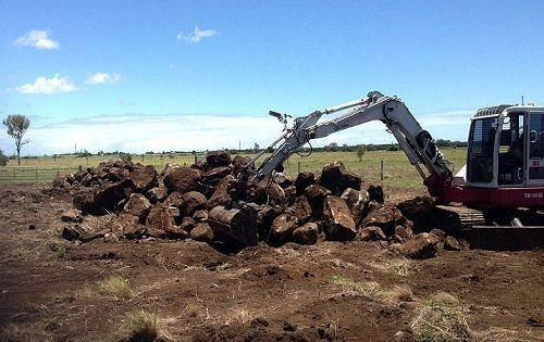 Excavation and land clearing