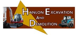 Hanlon Excavation Logo