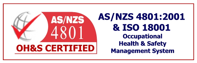 AS and NZS 4801 OH&S Logo